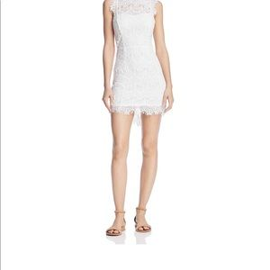 NWT Free People Lace White Cocktail Dress-Size M